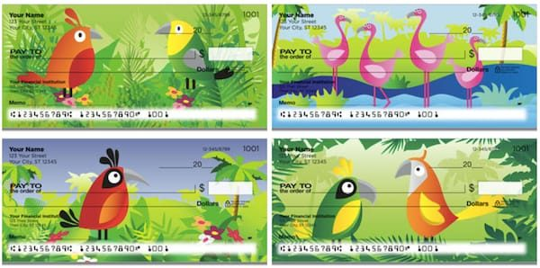 Bird Paradise Checks