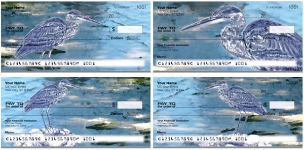 Blue Heron Checks