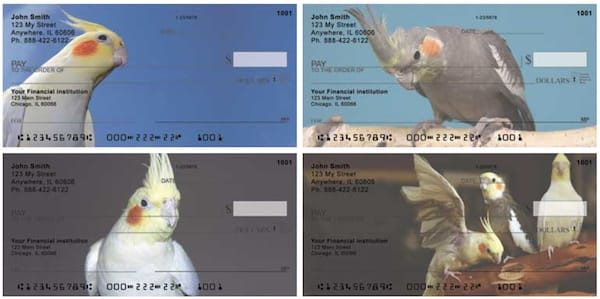 Cockatiels Personal Checks
