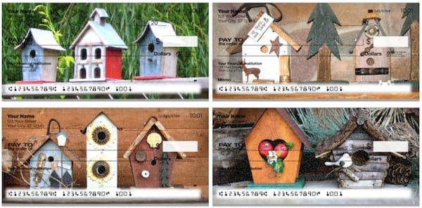 Country Birdhouse Checks