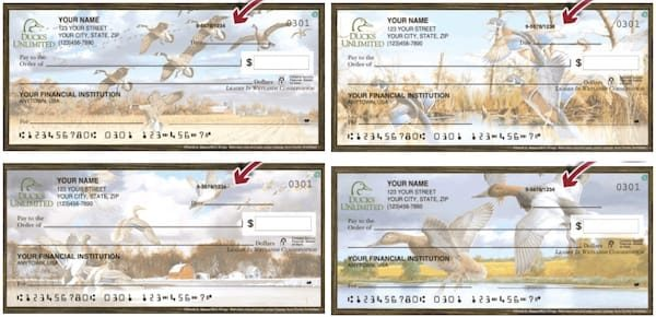 Ducks Unlimited Checks