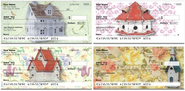 Fancy Birdhouse Checks