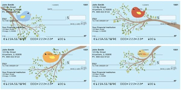 Feathered Friends Personal Checks