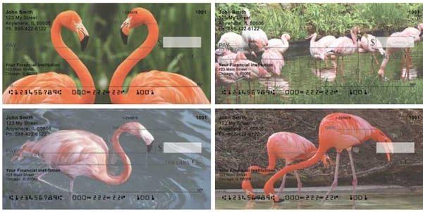 Flamingos Personal Checks