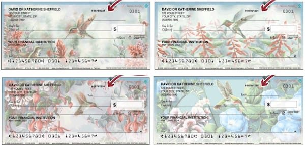 Hummingbirds Checks