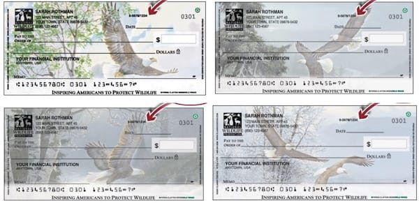 National Wildlife Federation® Eagles Checks