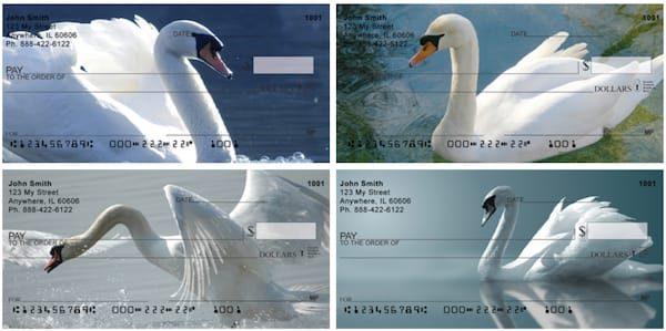 Swan Splendor Personal Checks