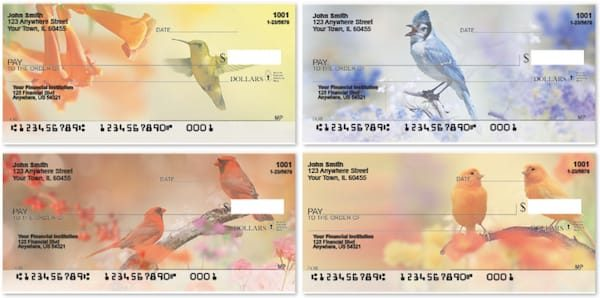 Tranquil Birds Checks