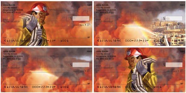 Heroic Firefighter Personal Checks