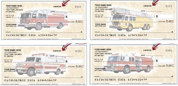Modern Fire Trucks Checks