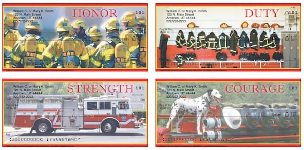 Traditions of Bravery Firefighter Personal Checks