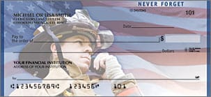 Fire Fighters and heroes American Checks