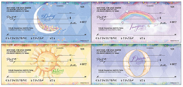 Flavia Celestial Personal Checks