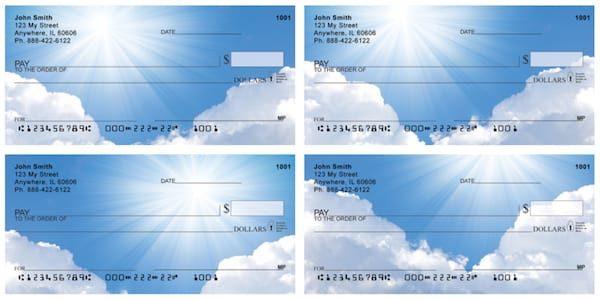 Sun Rays Personal Checks