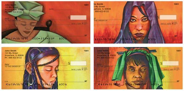 African Art Personal Checks