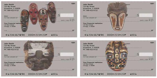 African Mask Checks