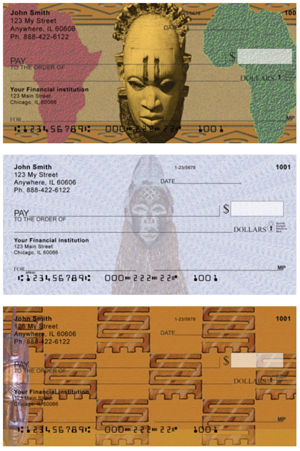 African Pride Personal Checks