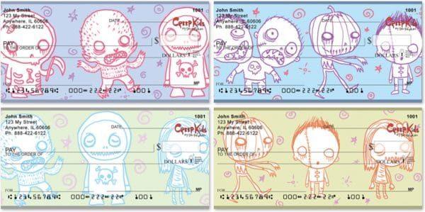 Dr Krinkles Creep Kids Personal Checks