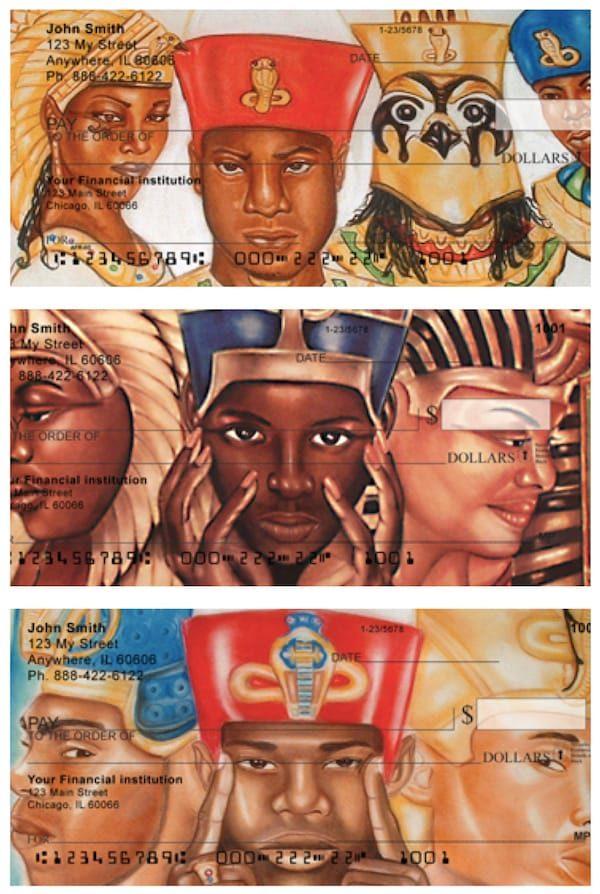 Egyptian Pharaoh Checks