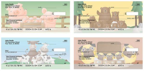 Happy Pigs Personal Checks