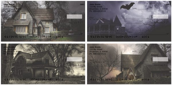 Haunted Houses Personal Checks