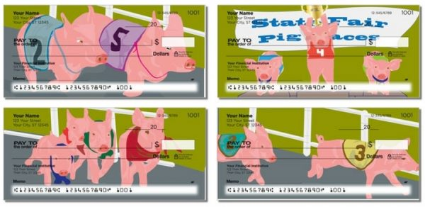Racing Pigs Personal Checks