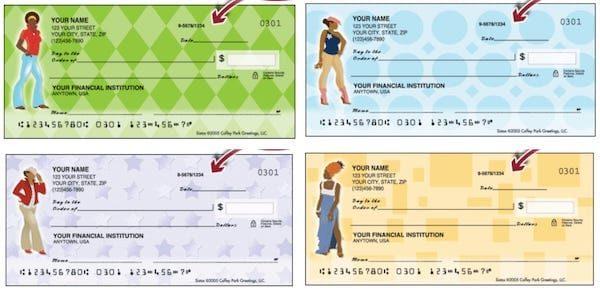 Sistas African American Personal Checks