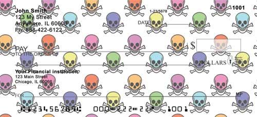 Skulls Personal Checks