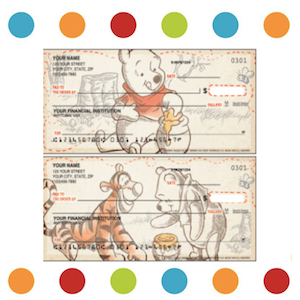 Disney Winnie the Pooh Checks insta
