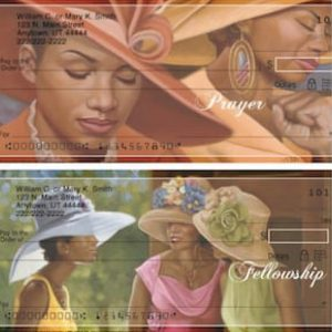 Sunday Hats African American Personal Checks