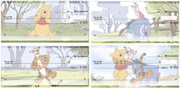 Winnie the Pooh Adventures Checks