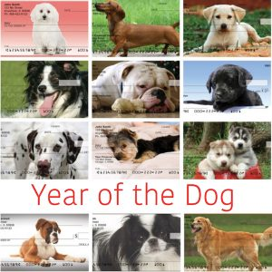 Year of the Dog Personal Checks