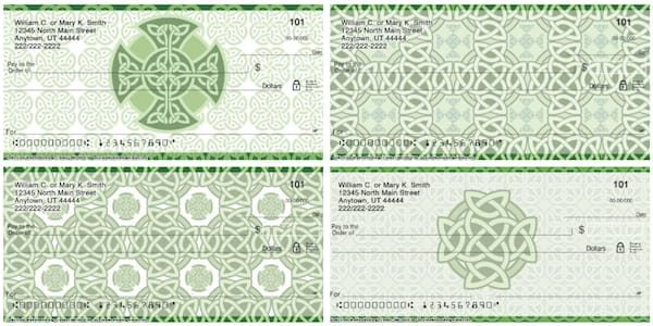 Celtic Knots Personal Checks