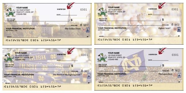 Fighting Irish Football Checks
