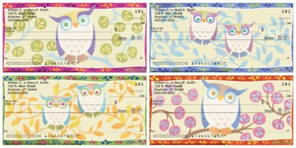 Awesome Owls Personal Checks