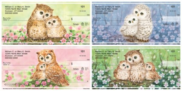 Owl Always Love You Checks