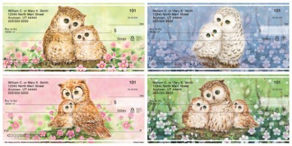 Owl Always Love You Checks