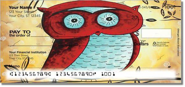 Peekaboo Owl Checks