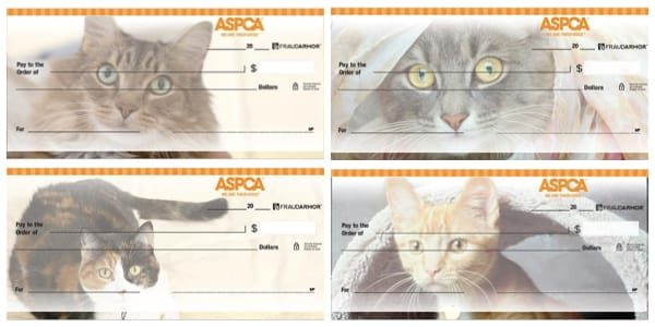 ASPCA Cats Personal Checks