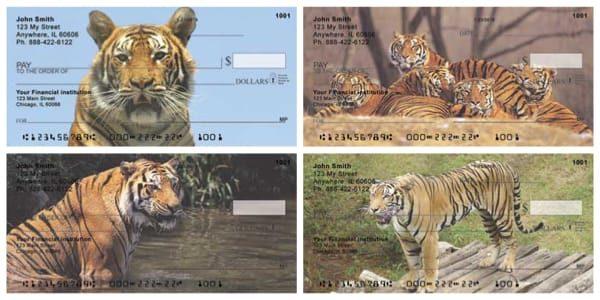 Bengal Tigers Personal Checks