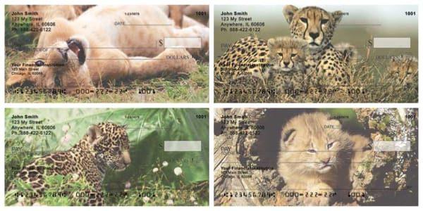 Big Cat Babies Personal Checks