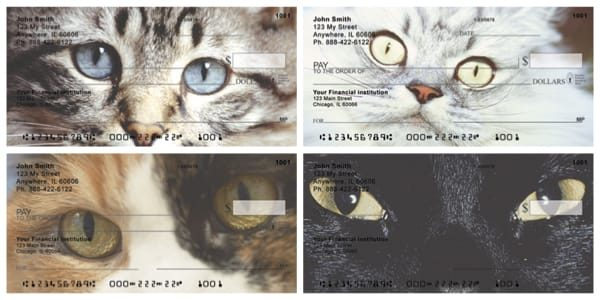 Cat Eyes Personal Checks