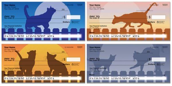 Cat Nightlife Personal Checks