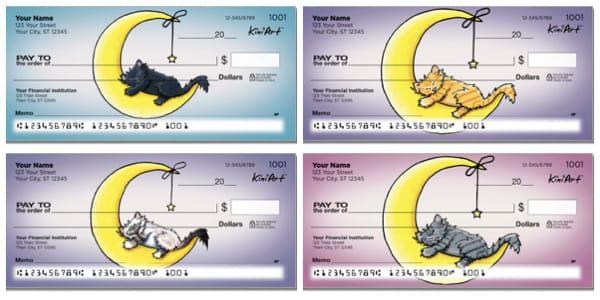 Cat Series Personal Checks