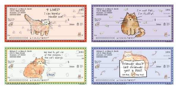 Cats Rule Personal Checks