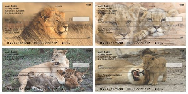 Cats The Jungle Royals Personal Checks
