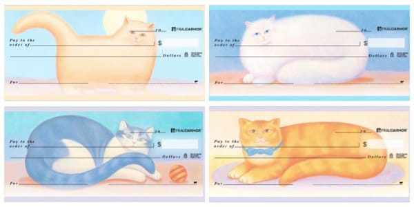 Country Cats Personal Checks