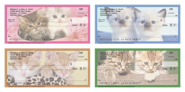 Cuddly Kittens Personal Checks