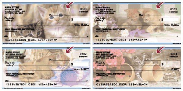 Cute Kittens Checks