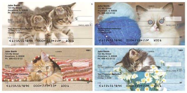 Cute Kittens Personal Checks